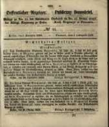 Oeffentlicher Anzeiger. 1853.11.01 Nro.44