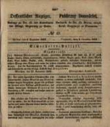 Oeffentlicher Anzeiger. 1853.12.06 Nro.49
