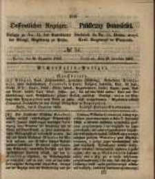 Oeffentlicher Anzeiger. 1853.12.20 Nro.51