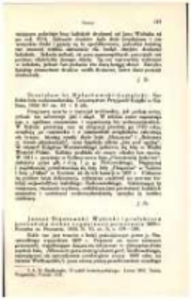 Janusz Staszewski: Wybicki i prefektura poznańska wobec organizacji powstania 1809 r. Kronika m. Poznania. 1928. R. VI, nr 8, s. 1790190