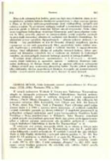 Tadeusz Mencel, Feliks Łubieński, minister sprawiedliwości Ks. Warszawskiego (1758-1848), Warszawa 1952, s. 252
