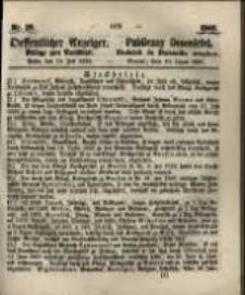 Oeffentlicher Anzeiger. 1860.07.10 Nro.28