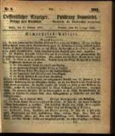 Oeffentlicher Anzeiger. 1860.02.21 Nro.8