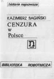 Cenzura w Polsce