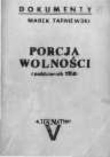 Porcja wolnośc (październik 1956)