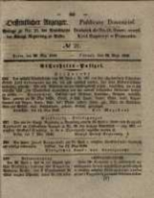 Oeffentlicher Anzeiger. 1846.05.26 Nro.21