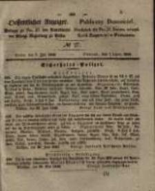 Oeffentlicher Anzeiger. 1846.07.07 Nro.27