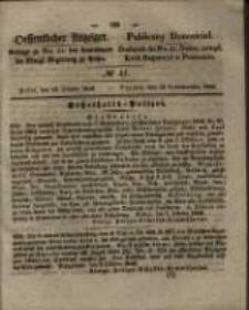 Oeffentlicher Anzeiger. 1846.10.13 Nro.41