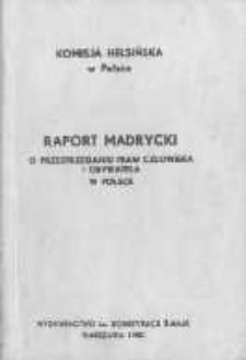 O przestrzegani upraw człowieka i obywatela w PRL