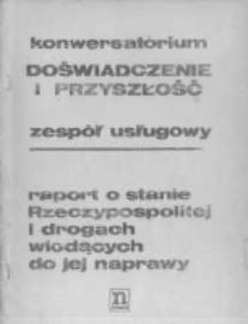 Raport o stanie Rzeczypospolitej i drogach wiodących do jej napraw