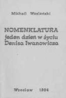 Jeden dzień w życiu Denisa Iwanowicza