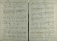 List króla Henryka Walezego do Mikołaja Krzysztofa Radziwiłła, Kraków 18.06.1574