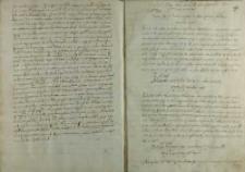 List kardynała Alessandro Farnese do Andrzeja Opalińskiego z Bnina, Rzym 18.04.1587