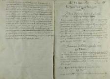 List króla Zygmunta III do arcyksięcia Maksymiliana, Warszawa 1599