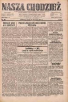 Nasza Chodzież: dziennik poświęcony obronie interesów narodowych na zachodnich ziemiach Polski 1933.01.25 R.4 Nr20