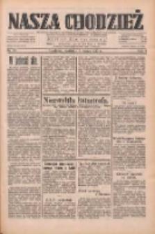 Nasza Chodzież: dziennik poświęcony obronie interesów narodowych na zachodnich ziemiach Polski 1933.03.05 R.4 Nr53