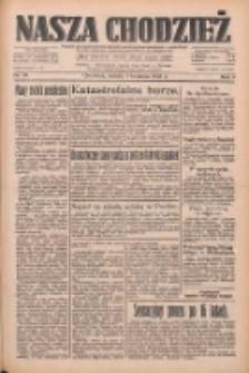 Nasza Chodzież: dziennik poświęcony obronie interesów narodowych na zachodnich ziemiach Polski 1933.04.01 R.4 Nr76