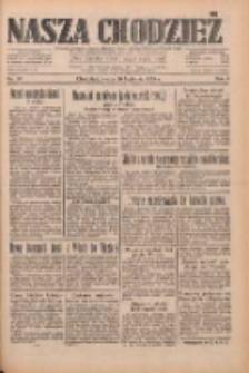 Nasza Chodzież: dziennik poświęcony obronie interesów narodowych na zachodnich ziemiach Polski 1933.04.26 R.4 Nr96