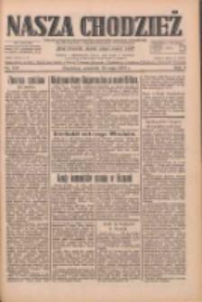 Nasza Chodzież: dziennik poświęcony obronie interesów narodowych na zachodnich ziemiach Polski 1933.05.25 R.4 Nr120