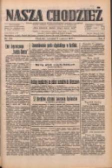 Nasza Chodzież: dziennik poświęcony obronie interesów narodowych na zachodnich ziemiach Polski 1933.06.08 R.4 Nr130