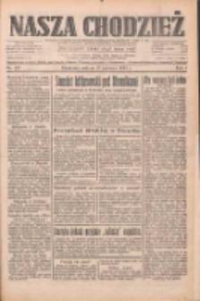 Nasza Chodzież: dziennik poświęcony obronie interesów narodowych na zachodnich ziemiach Polski 1933.06.17 R.4 Nr137
