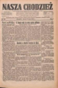 Nasza Chodzież: dziennik poświęcony obronie interesów narodowych na zachodnich ziemiach Polski 1933.07.11 R.4 Nr156