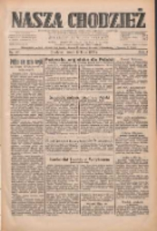 Nasza Chodzież: dziennik poświęcony obronie interesów narodowych na zachodnich ziemiach Polski 1933.07.12 R.4 Nr157