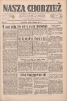 Nasza Chodzież: dziennik poświęcony obronie interesów narodowych na zachodnich ziemiach Polski 1933.07.21 R.4 Nr165