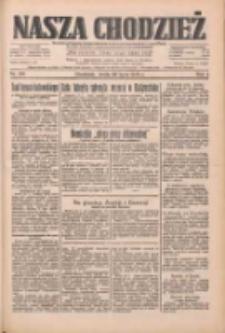 Nasza Chodzież: dziennik poświęcony obronie interesów narodowych na zachodnich ziemiach Polski 1933.07.26 R.4 Nr169