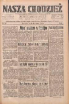 Nasza Chodzież: dziennik poświęcony obronie interesów narodowych na zachodnich ziemiach Polski 1933.08.09 R.4 Nr181