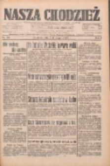 Nasza Chodzież: dziennik poświęcony obronie interesów narodowych na zachodnich ziemiach Polski 1933.08.19 R.4 Nr189