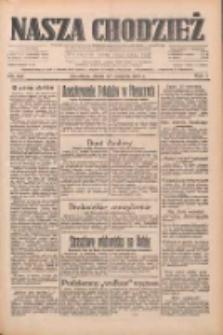 Nasza Chodzież: dziennik poświęcony obronie interesów narodowych na zachodnich ziemiach Polski 1933.08.23 R.4 Nr192