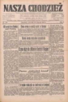 Nasza Chodzież: dziennik poświęcony obronie interesów narodowych na zachodnich ziemiach Polski 1933.08.24 R.4 Nr193