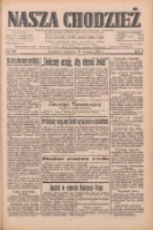 Nasza Chodzież: dziennik poświęcony obronie interesów narodowych na zachodnich ziemiach Polski 1933.08.27 R.4 Nr196