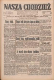 Nasza Chodzież: dziennik poświęcony obronie interesów narodowych na zachodnich ziemiach Polski 1933.08.29 R.4 Nr197