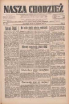 Nasza Chodzież: dziennik poświęcony obronie interesów narodowych na zachodnich ziemiach Polski 1933.09.06 R.4 Nr204