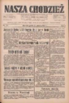 Nasza Chodzież: dziennik poświęcony obronie interesów narodowych na zachodnich ziemiach Polski 1933.09.22 R.4 Nr218