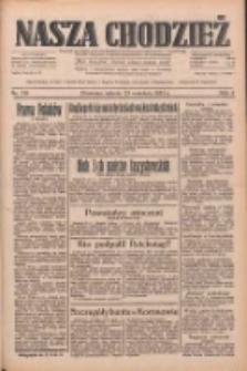 Nasza Chodzież: dziennik poświęcony obronie interesów narodowych na zachodnich ziemiach Polski 1933.09.23 R.4 Nr219