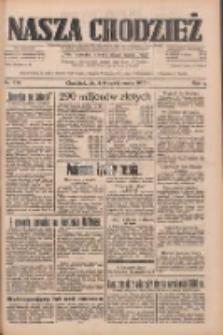 Nasza Chodzież: dziennik poświęcony obronie interesów narodowych na zachodnich ziemiach Polski 1933.10.06 R.4 Nr230