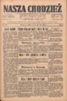 Nasza Chodzież: dziennik poświęcony obronie interesów narodowych na zachodnich ziemiach Polski 1933.10.07 R.4 Nr231