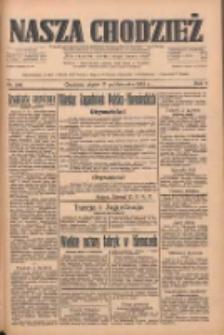 Nasza Chodzież: dziennik poświęcony obronie interesów narodowych na zachodnich ziemiach Polski 1933.10.13 R.4 Nr236