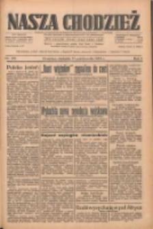 Nasza Chodzież: dziennik poświęcony obronie interesów narodowych na zachodnich ziemiach Polski 1933.10.15 R.4 Nr238