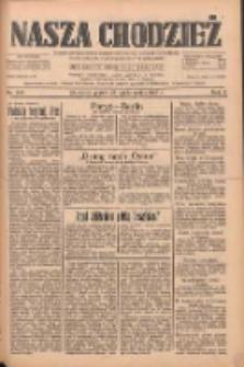 Nasza Chodzież: dziennik poświęcony obronie interesów narodowych na zachodnich ziemiach Polski 1933.10.27 R.4 Nr248