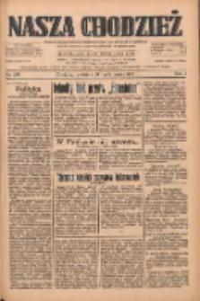 Nasza Chodzież: dziennik poświęcony obronie interesów narodowych na zachodnich ziemiach Polski 1933.10.29 R.4 Nr250