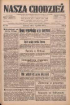 Nasza Chodzież: dziennik poświęcony obronie interesów narodowych na zachodnich ziemiach Polski 1933.12.02 R.4 Nr278
