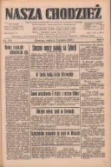 Nasza Chodzież: dziennik poświęcony obronie interesów narodowych na zachodnich ziemiach Polski 1933.12.03 R.4 Nr279