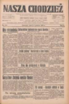 Nasza Chodzież: dziennik poświęcony obronie interesów narodowych na zachodnich ziemiach Polski 1933.12.05 R.4 Nr280