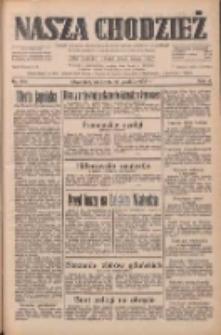 Nasza Chodzież: dziennik poświęcony obronie interesów narodowych na zachodnich ziemiach Polski 1933.12.10 R.4 Nr284