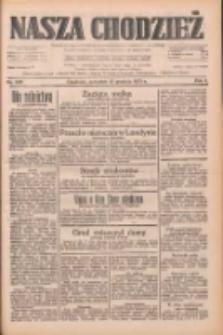 Nasza Chodzież: dziennik poświęcony obronie interesów narodowych na zachodnich ziemiach Polski 1933.12.21 R.4 Nr293