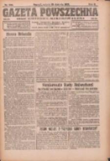 Gazeta Powszechna: organ Zjednoczenia Producentów Rolnych 1921.08.13 R.2 Nr166